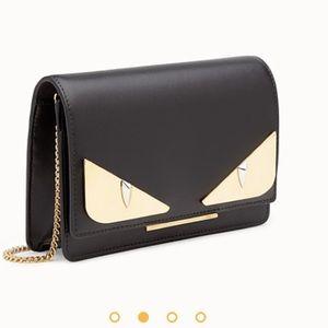 Fendi Black Leather mini-bag